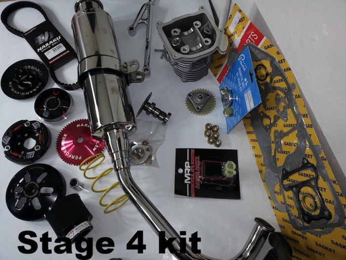 Rolling Wrench stage 4 kit gy6 qmb139